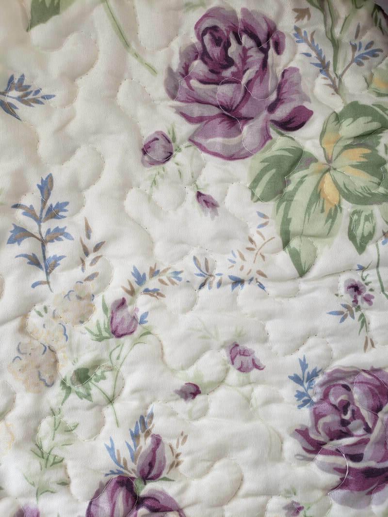Plum Blanket American Floral