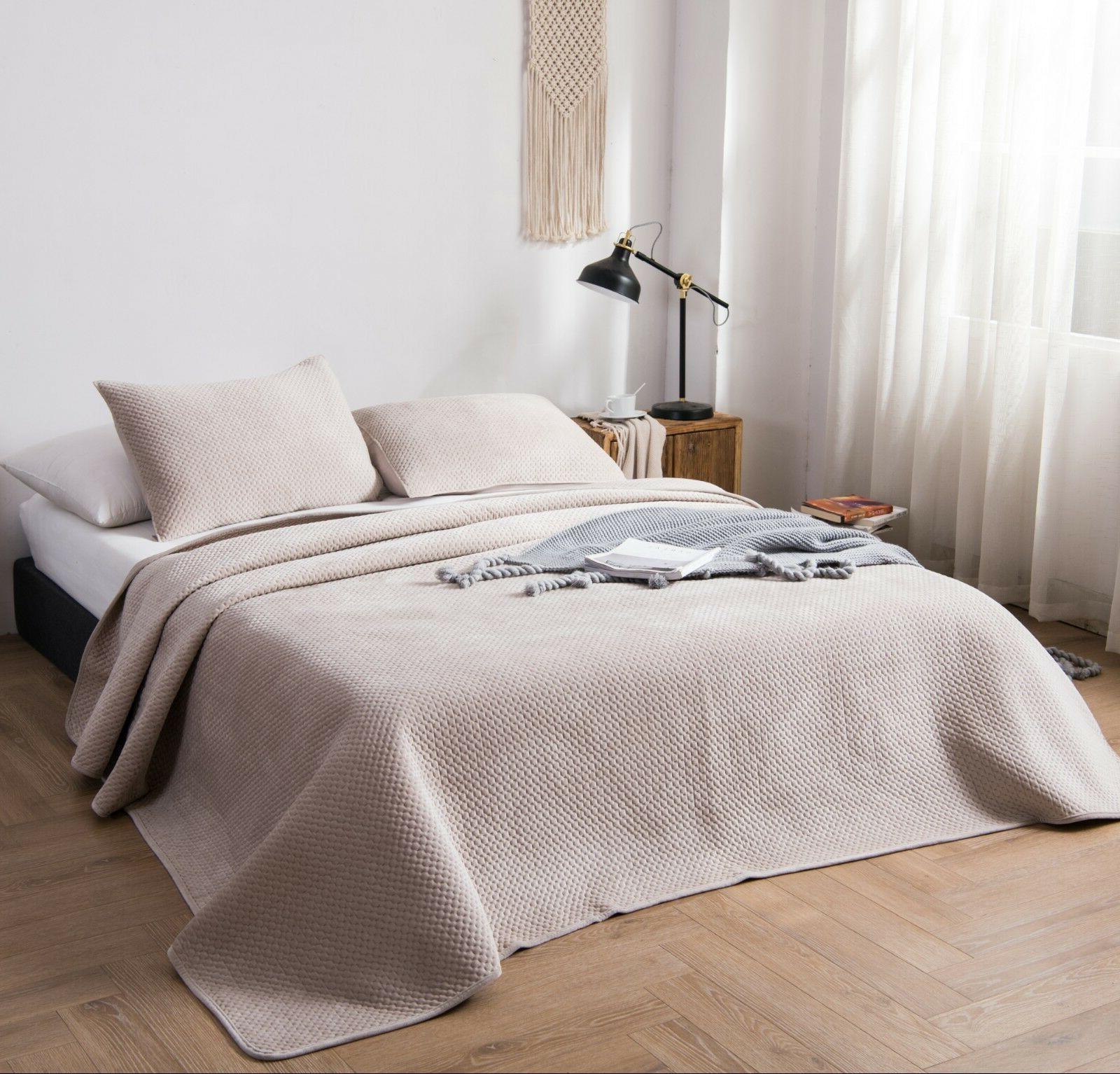 Kasentex Luxury Quilt Set Ultra Brushed Winter