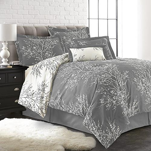 plush reversible comforter set