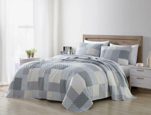 Chezmoi Collection Set Bedspread Coverlet