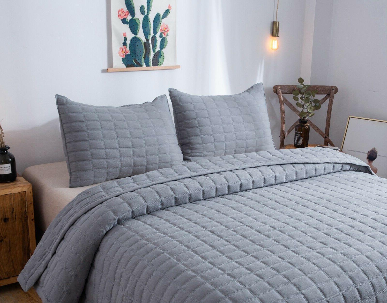 Kasentex Stone-Washed Quilt 100% Microfiber