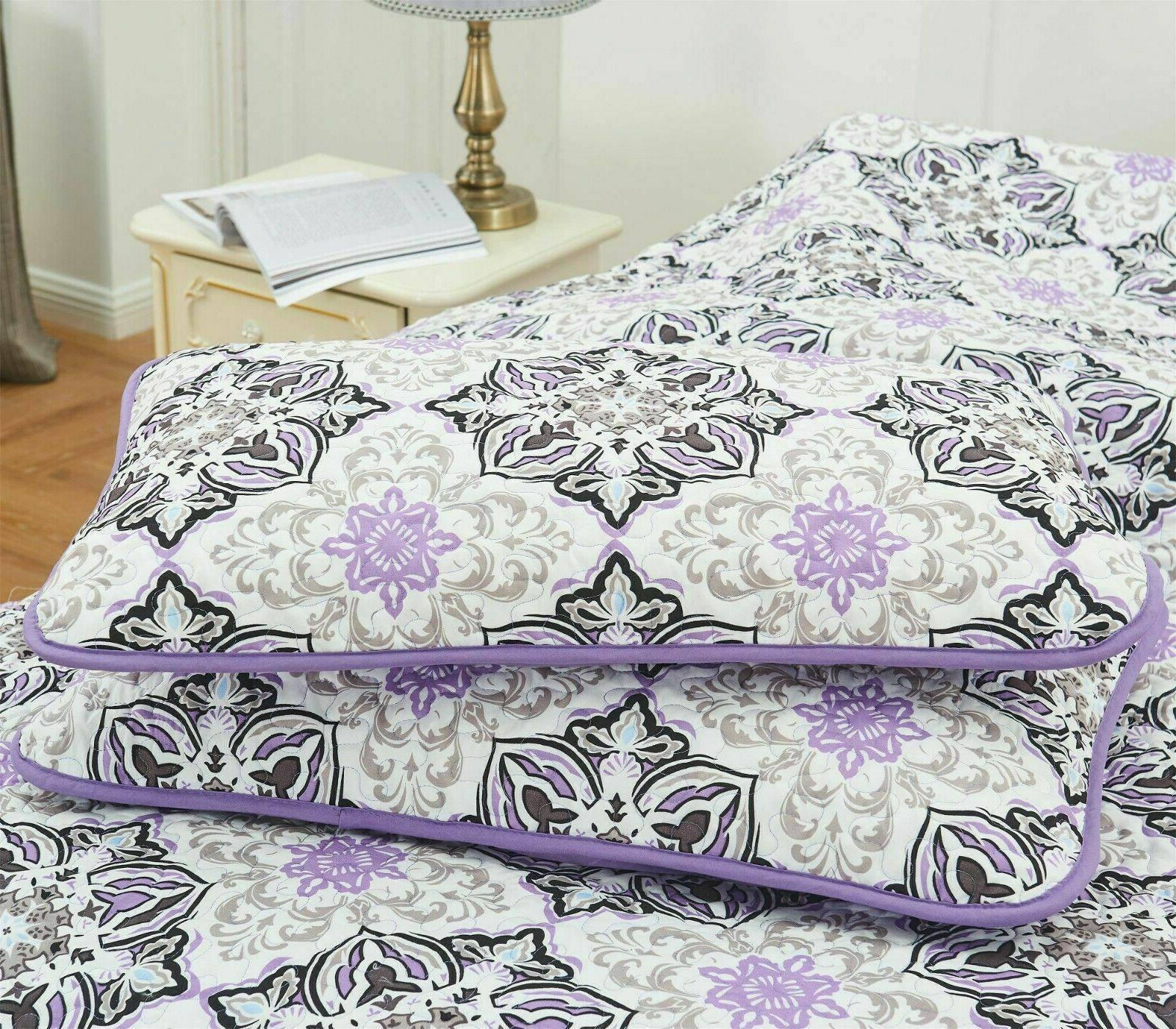 Quilt Sets 4 Piece Down with and Decorative Pillow