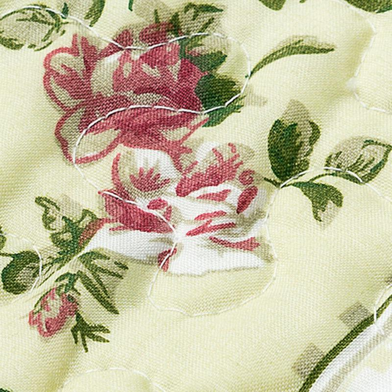 Printed Coverlet Set Bedspread Ruffle