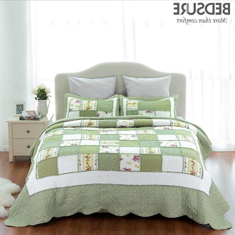 printed quilt coverlet set bedspread all size
