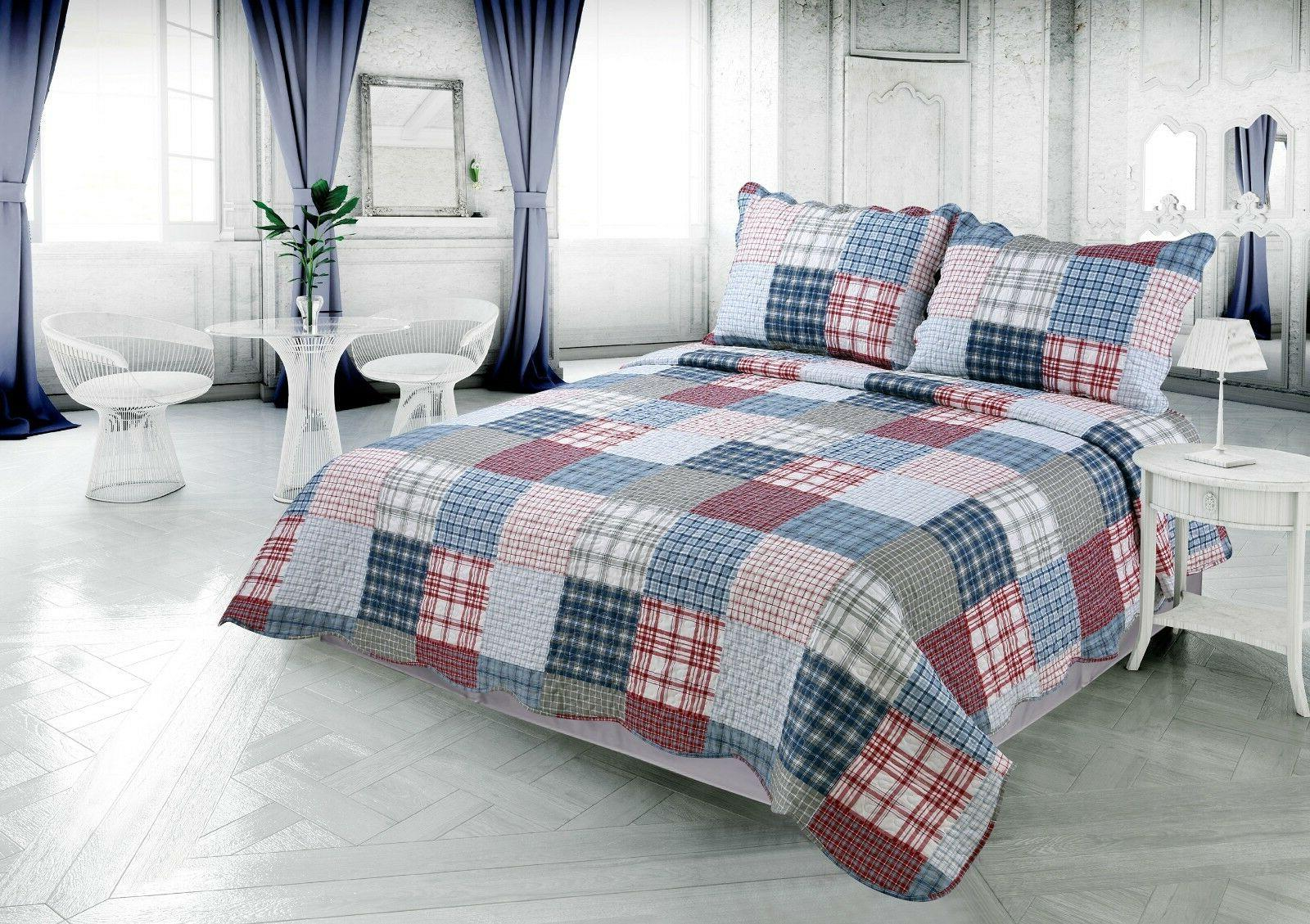 Printed Reversible Bedding Comfort Piece Quilt