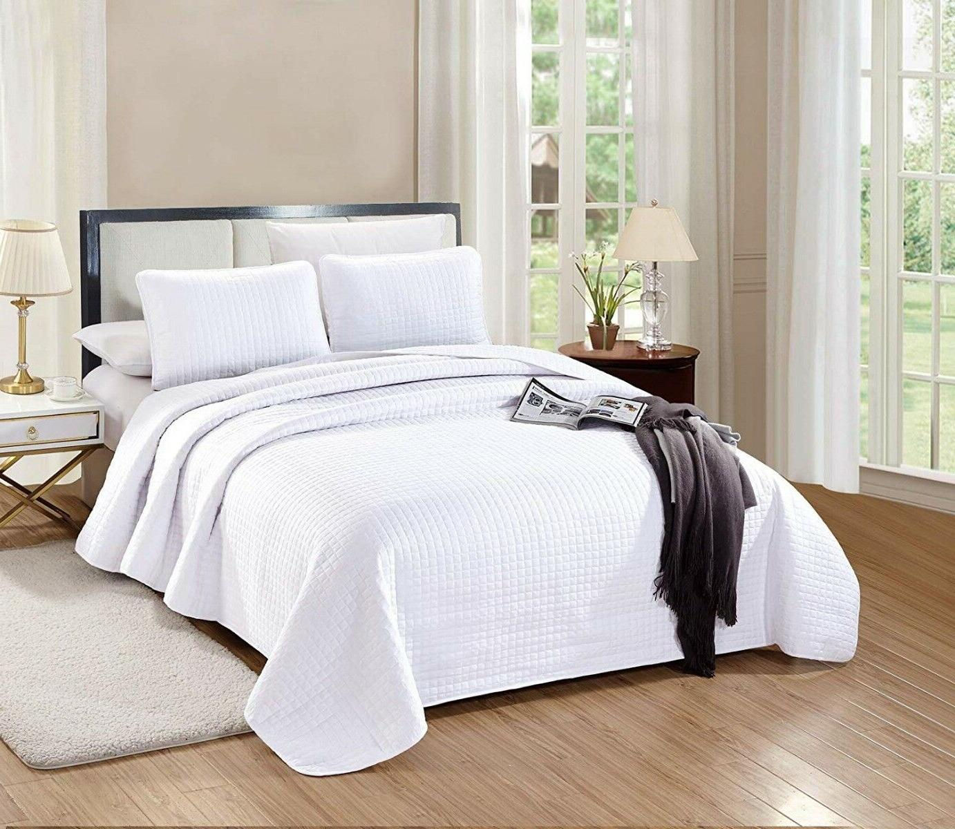 queen full size florence quilt set solid