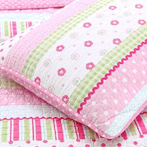 Cozy Line Home 5-Piece Greta Pink 100% for Girls