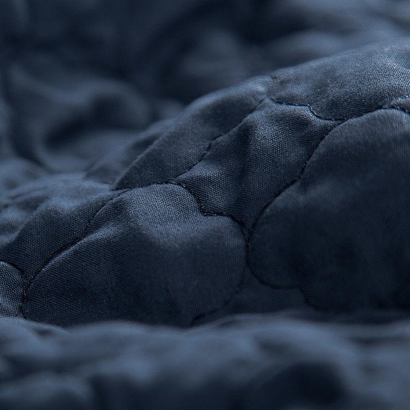 Bedsure Quilt Pillow Grey