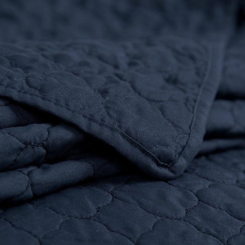 Bedsure Coverlet Luxury Design Pillow Cases Grey