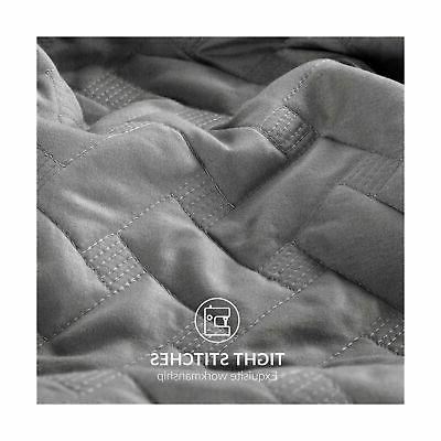 Bedsure Grey King - Pattern -...