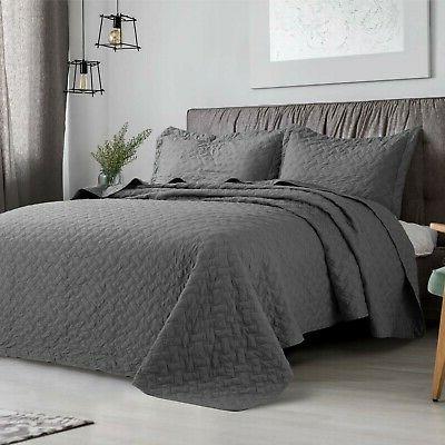 Bedsure Set Pattern Bedspread ...