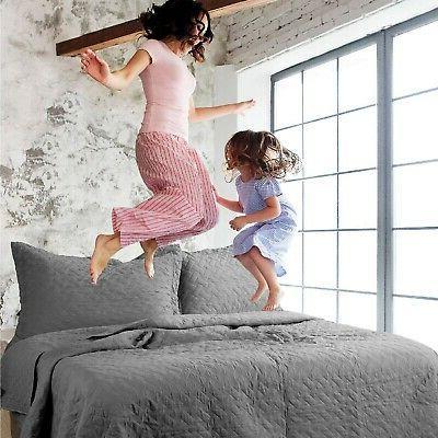 Bedsure Twin - Pattern Bedspread -