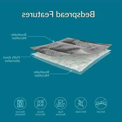 Bedsure Quilt Set Twin Size - Pattern