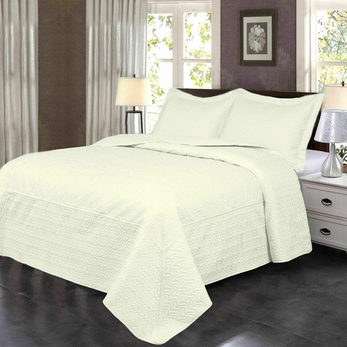 Quilt Set Pattern Bedspread Coverlet
