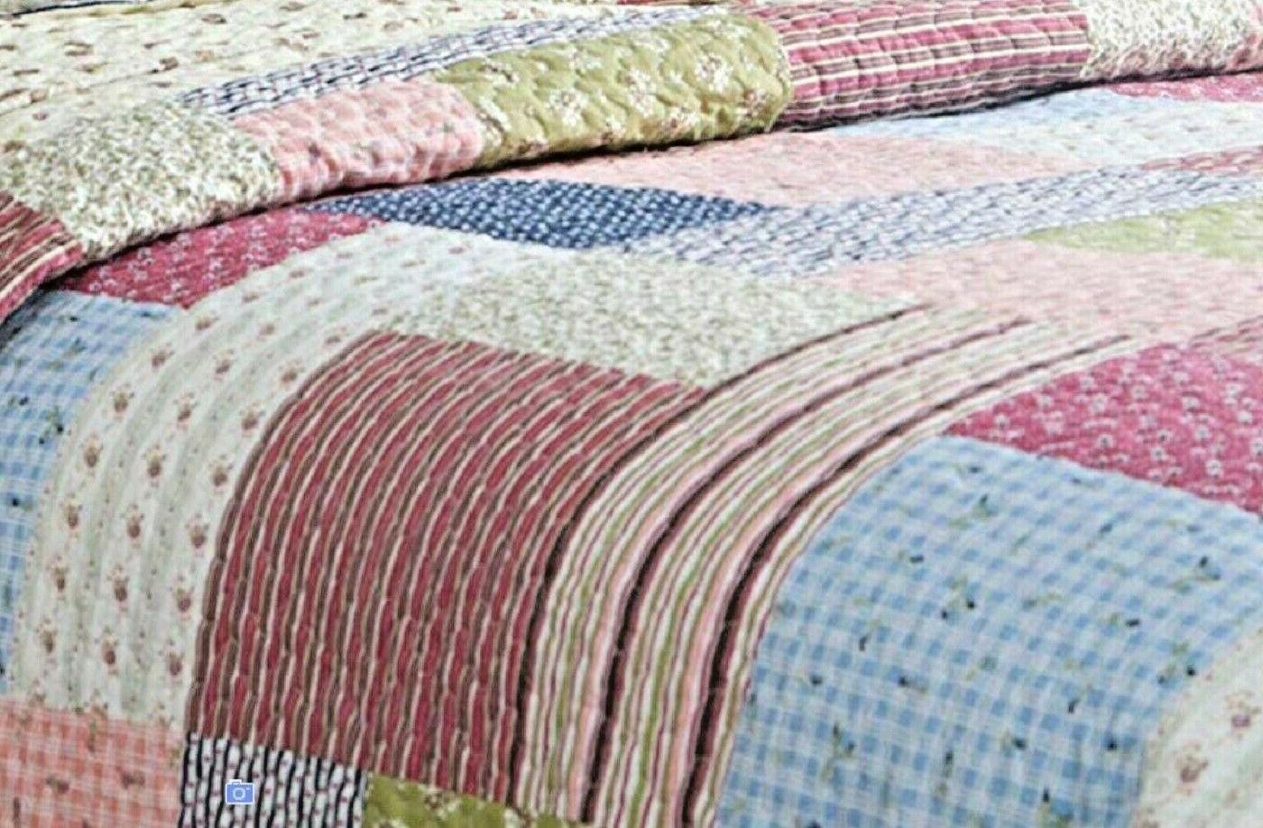 King Quilt Set Bed Cover Comforter Bedding