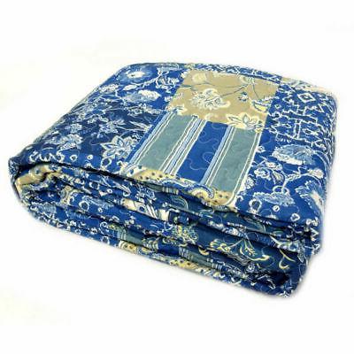Blue Floral Piece
