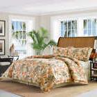 Tommy Bahama Rio De Janeiro 4 piece Comforter Set Queen&King