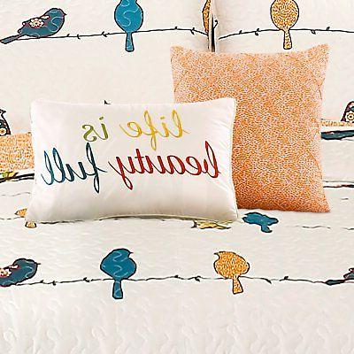 Rowley Birds Piece Quilt Decor