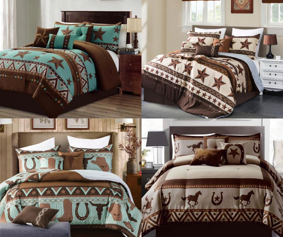 rustic western lovers cabin lodge comforter 7