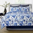 Charlton Home Sanatoga 100% Cotton 3 Piece Queen Reversible