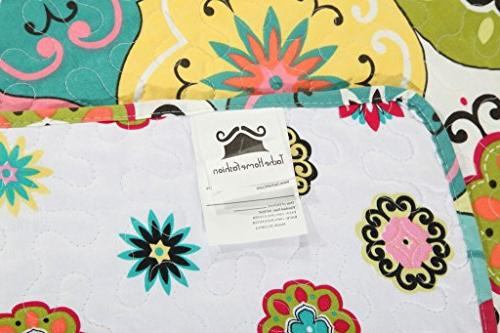 Tache Fashion King 3 Multi Spring Flower Bedspread California King
