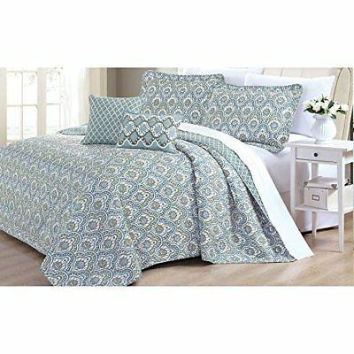 Home 5 Piece Printed Quilt