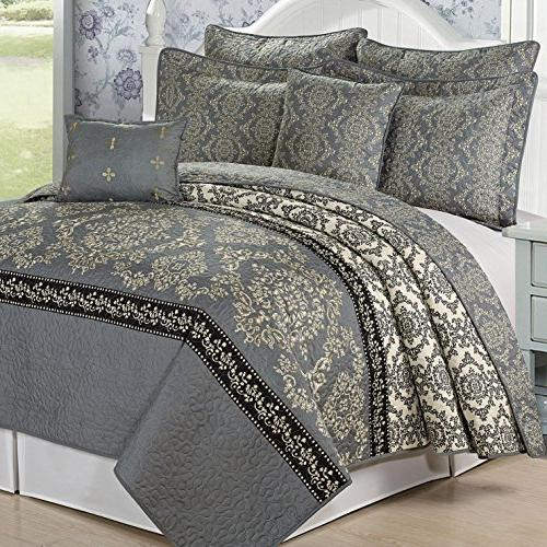 Home Things Printed Piece Mystic Queen, Charcoal