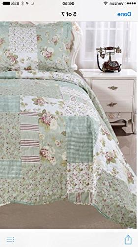 English Cotton bedcover,coverlet, bed