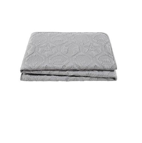VCNY Home Piece Quilt Grey