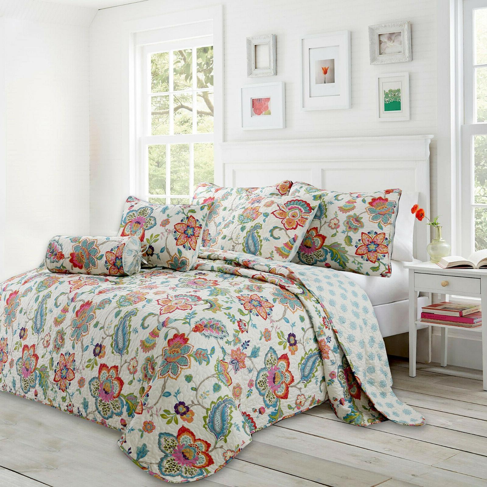 Spring Quilt Set, Bedspread,