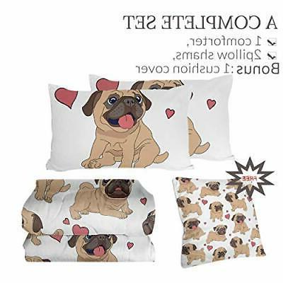 Sleepwish Comforter Set Dog