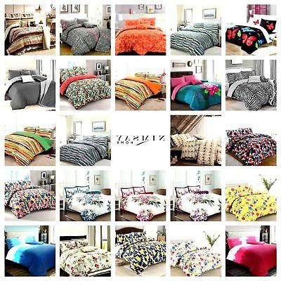 soft cotton blend duvet quilt cover set