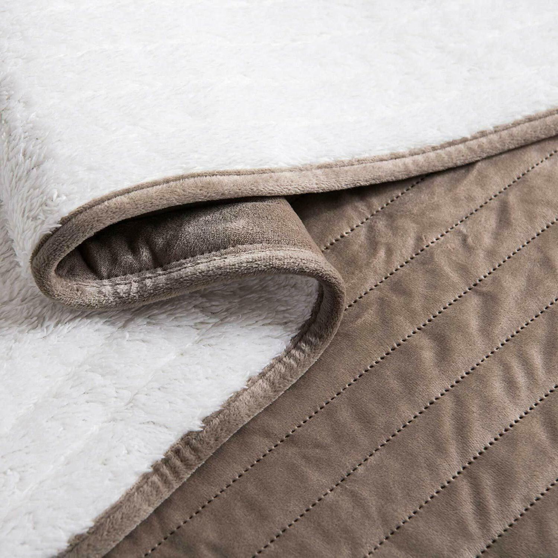 Soft Velvet Fleece Bedspread