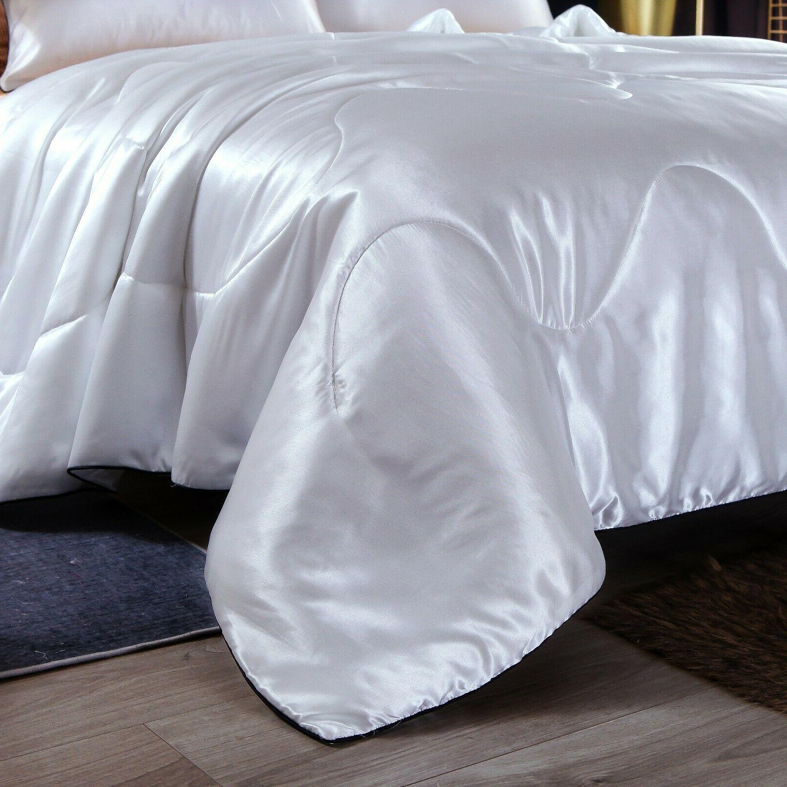 Solid Like Quilt Comforter Soft Doona
