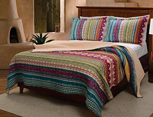 Greenland Home® 3-pc. Quilt Set