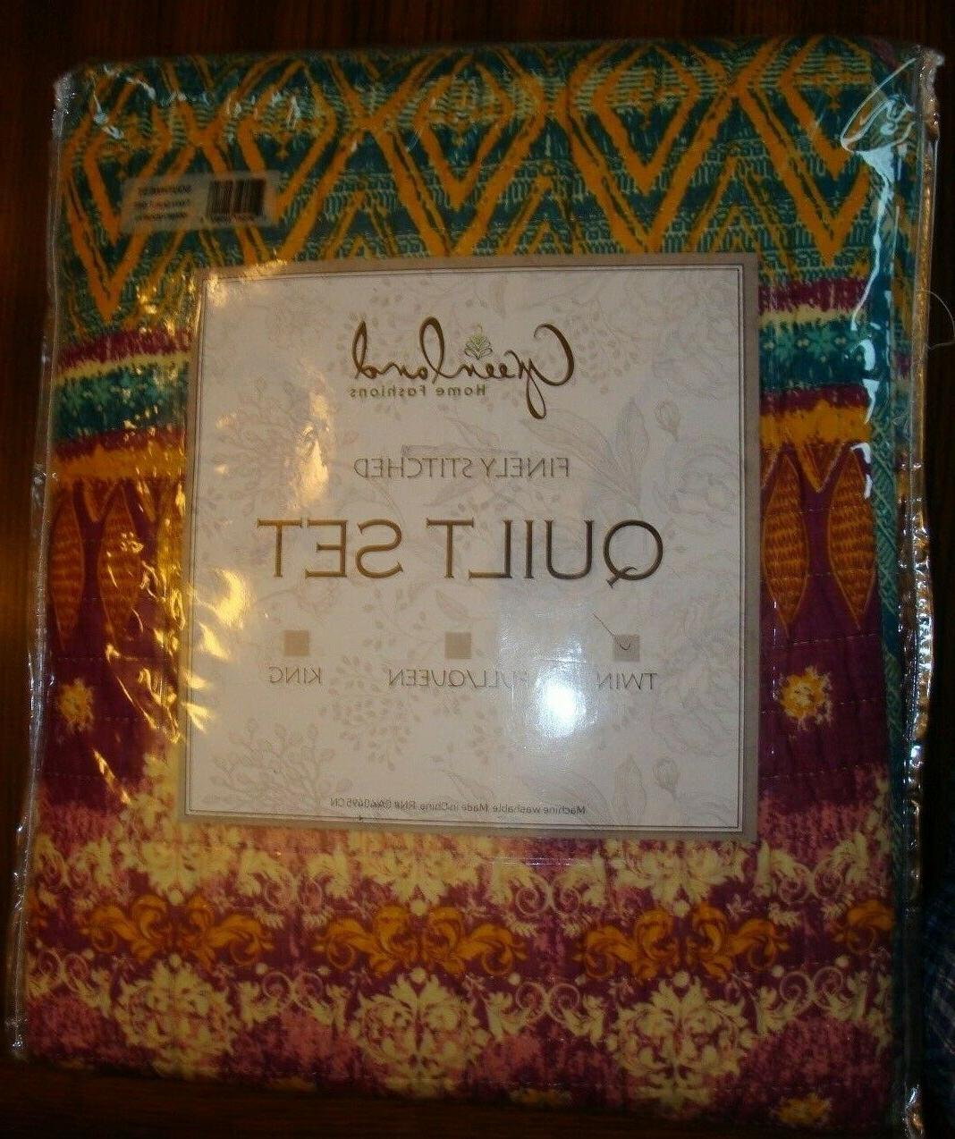southwest twin quilt set