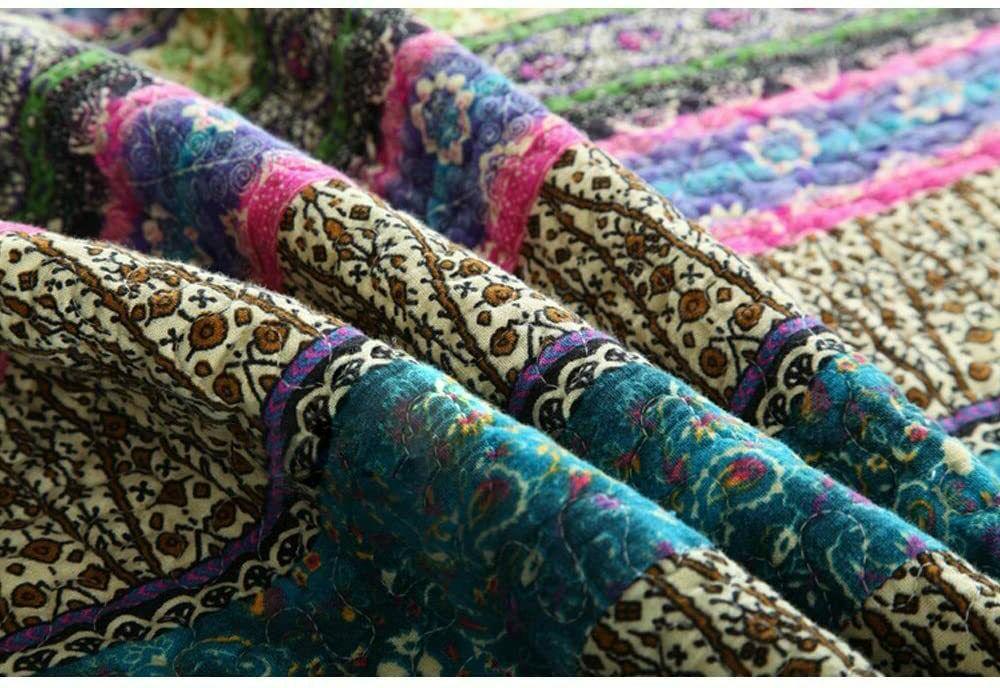 NEWLAKE Cotton 3-Piece Quilt Sets,