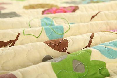 Tache New Blooms Reversible Bedspread Quilt Coverlet Set
