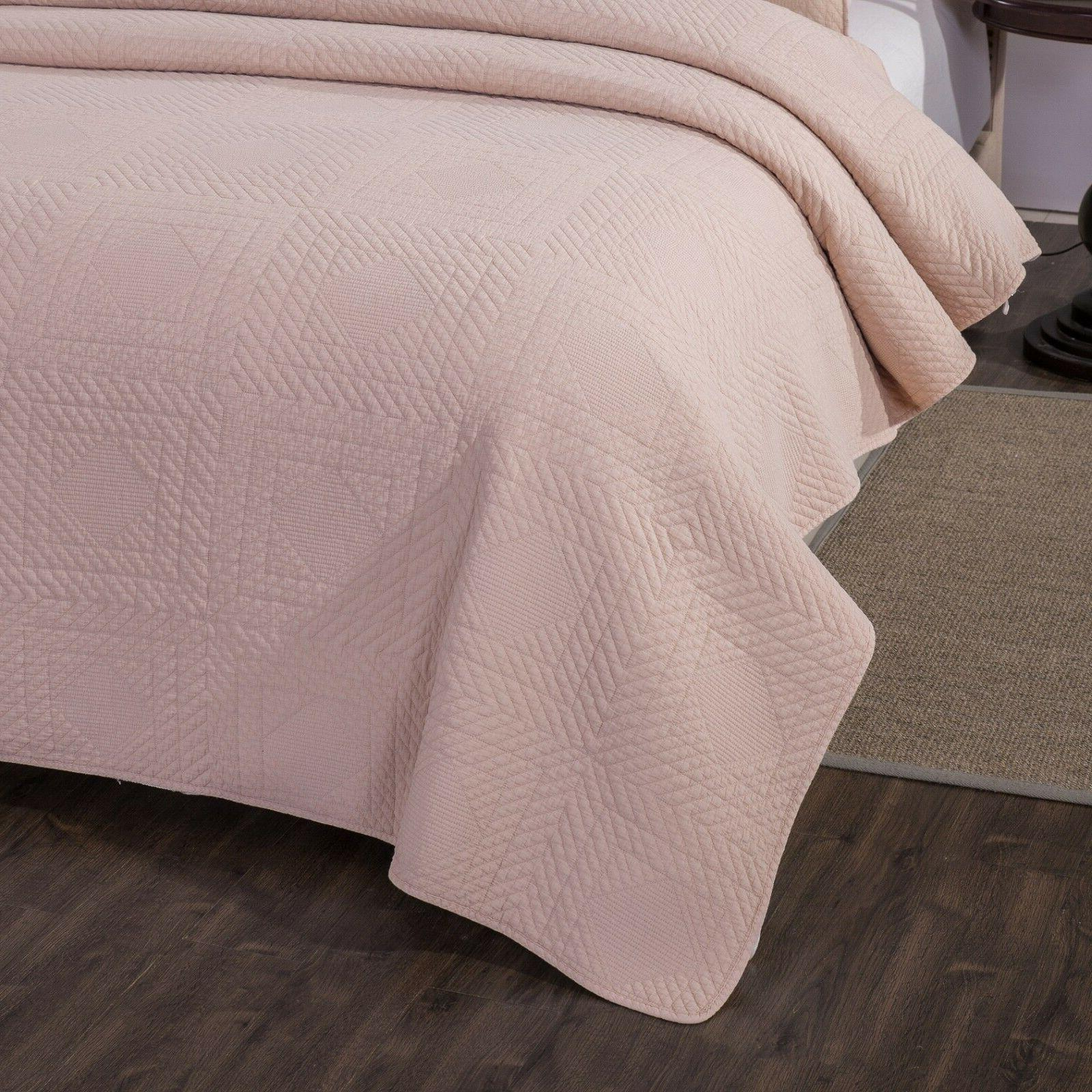 Tache Solid Pastel Bedspread