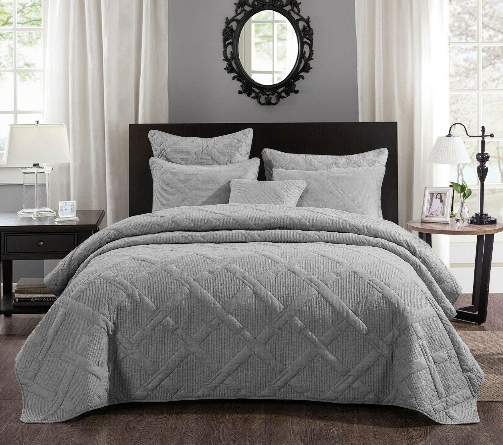 tache solid light grey silver cotton lightweight