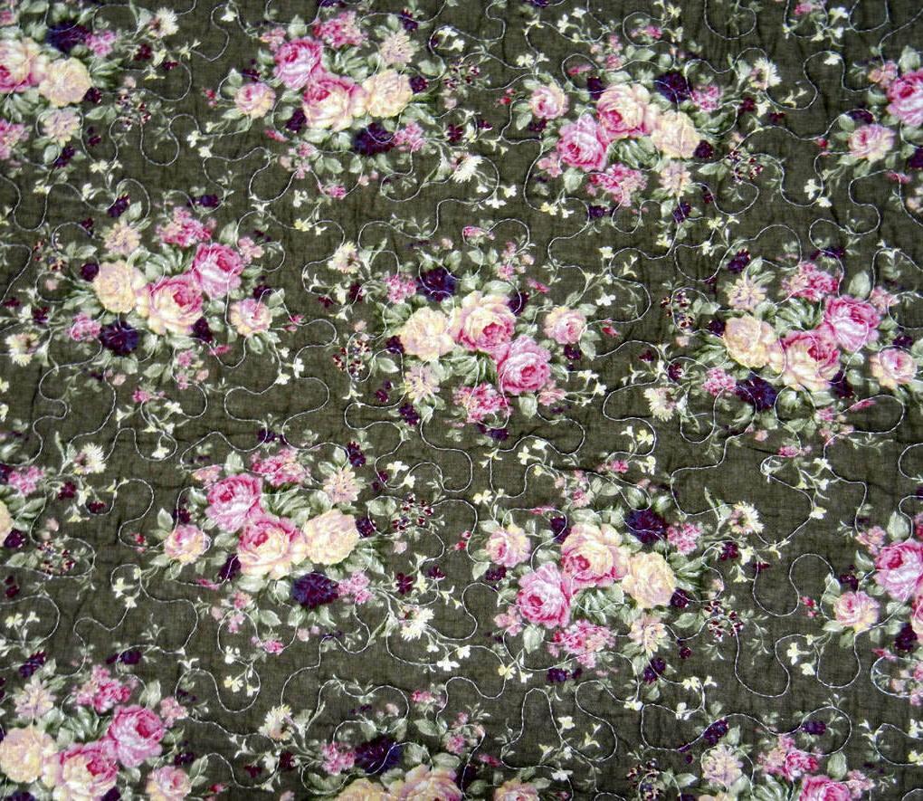 Size 3 Piece Patchwork Floral Hometex