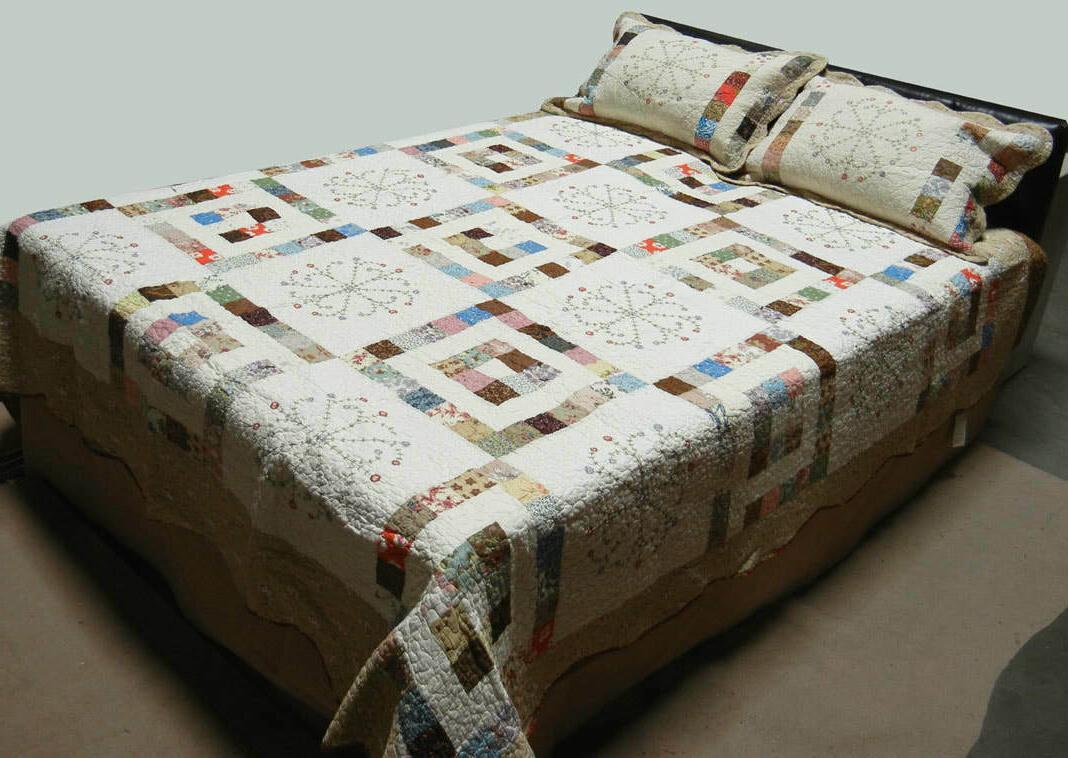 tessa quilt set king size 3 piece