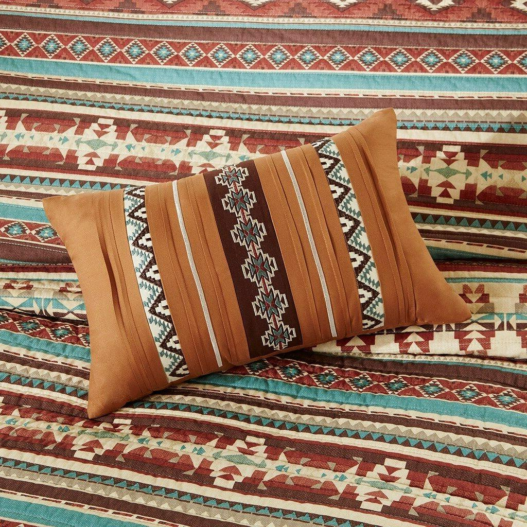 Southwest 6 Quilt Shams Toss Pillows
