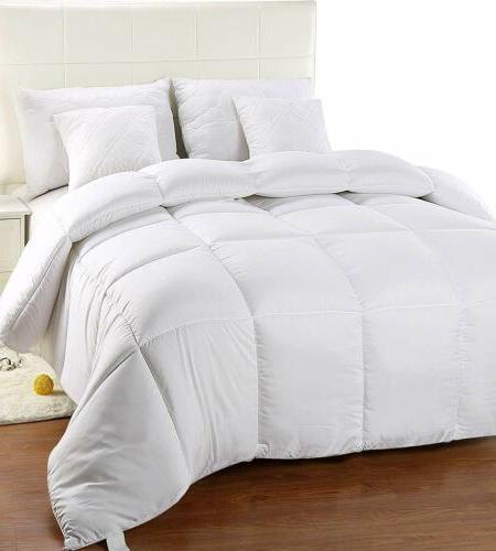twin comforter duvet insert white