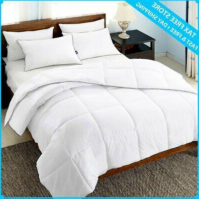 Ultra Hypoallergenic FULL QUEEN Coverlet Bedding Elegant