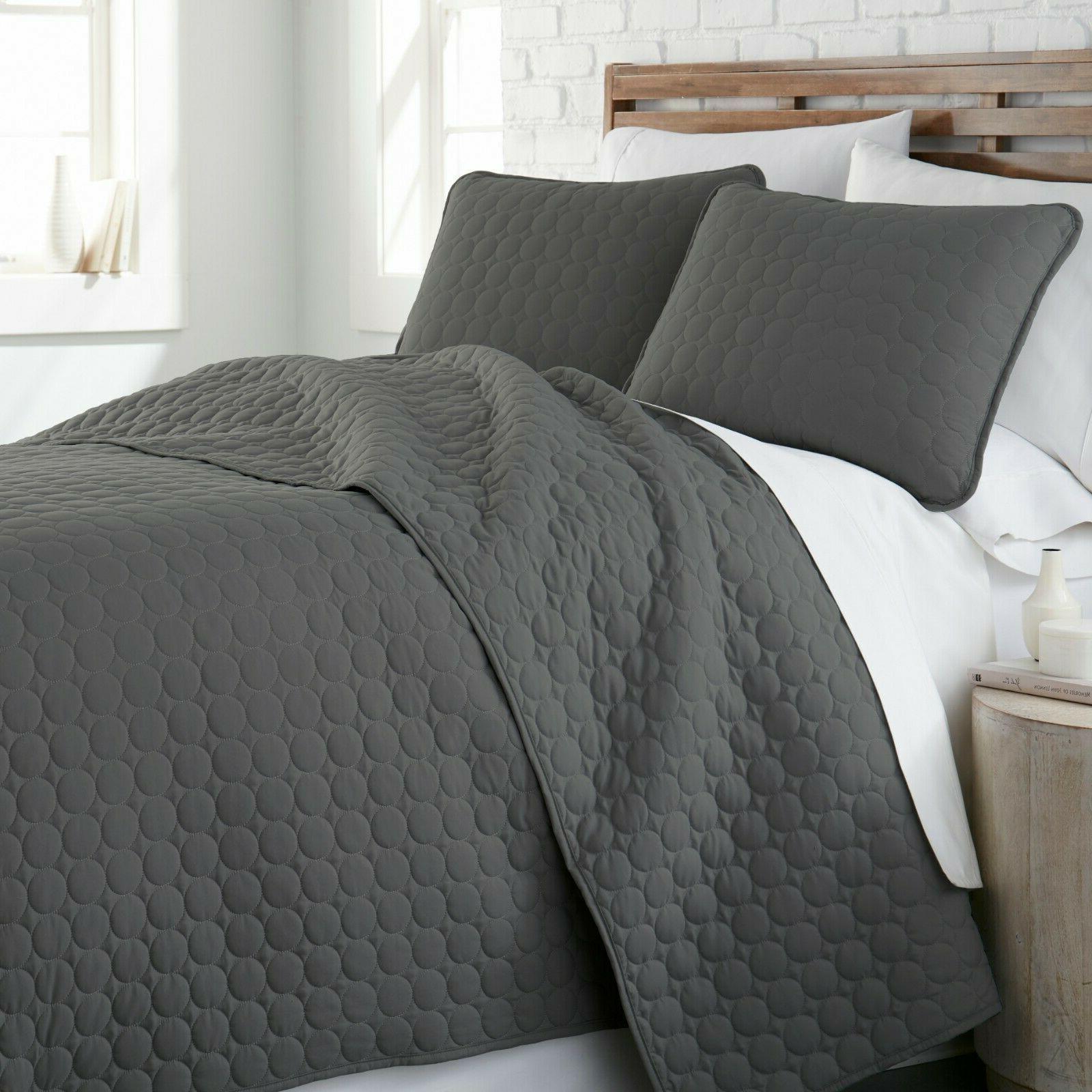 Ultra Soft Stitched 3-Piece Quilt Southshore Fine