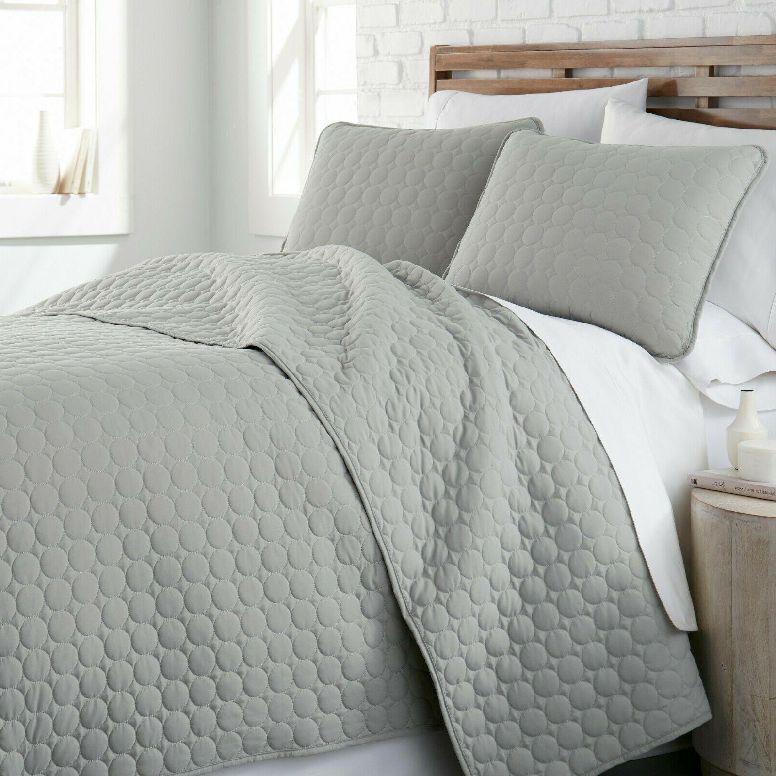 Ultra Soft Stitched 3-Piece Quilt Southshore Fine Linens