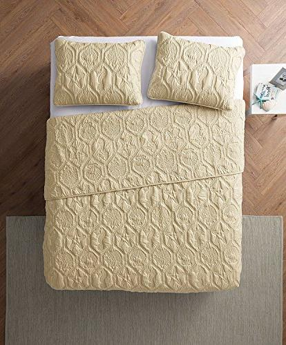 VCNY Shore Polyester 3 SUPER SOFT Wrinkle Hypoallergenic Bed Set,