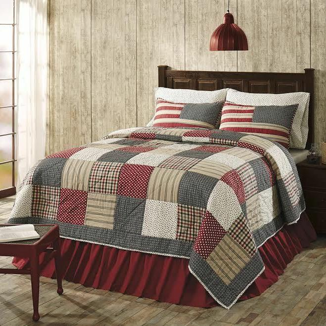 victory americana king quilt set