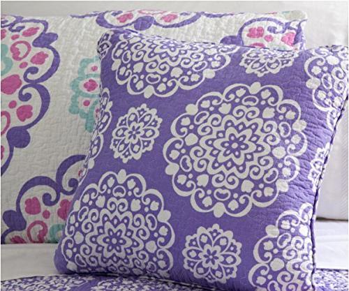O3 Studio QLTSETWDEC04-PPL Design Studio 4 Pink/Purple/Aqua,